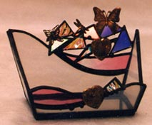 Cardholder  - Contact us for stained glass windows and glass gifts, including frames, candleholders, night-lights, and sun catchers.